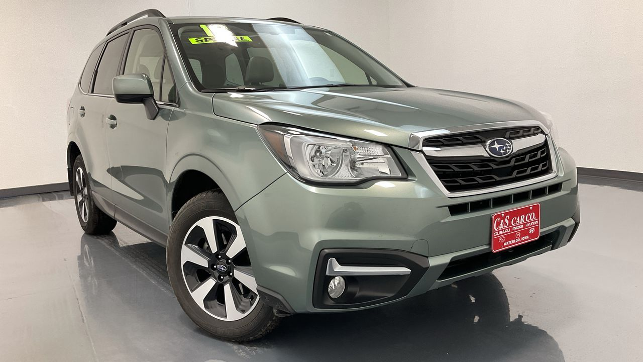 2018 Subaru Forester 4D SUV at  - SB9518A  - C & S Car Company