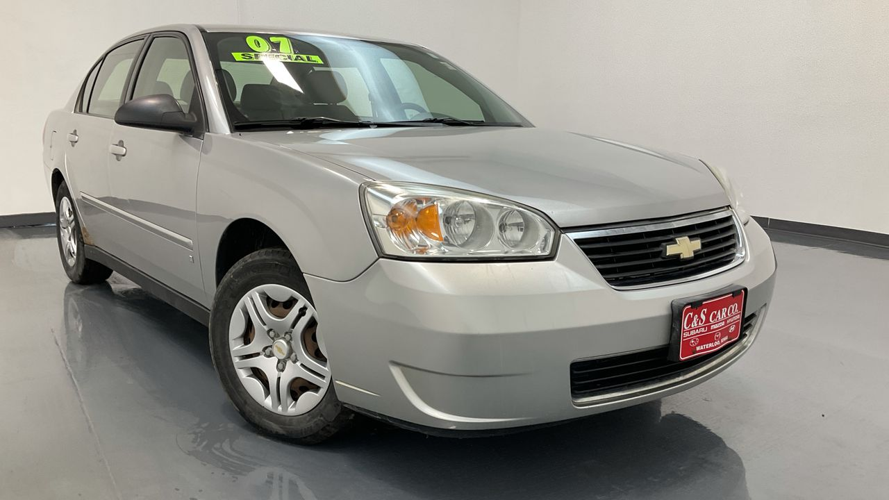 2007 Chevrolet Malibu 4D Sedan  - SB9454A  - C & S Car Company
