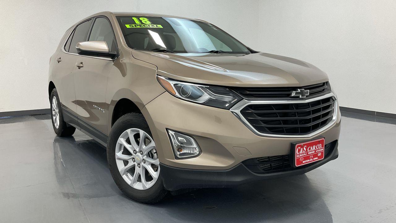 2018 Chevrolet Equinox 4D SUV AWD 1.5T  - HY8625B  - C & S Car Company