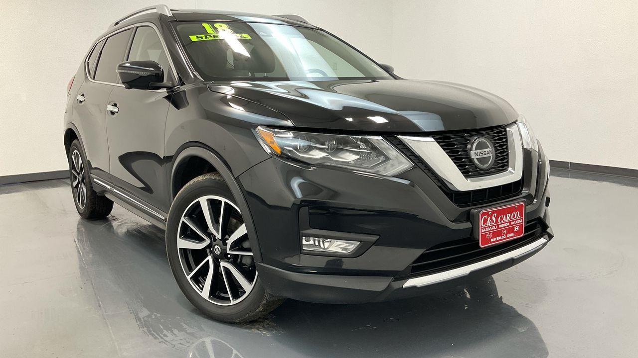 2018 Nissan Rogue 4D SUV AWD  - HY8578A  - C & S Car Company