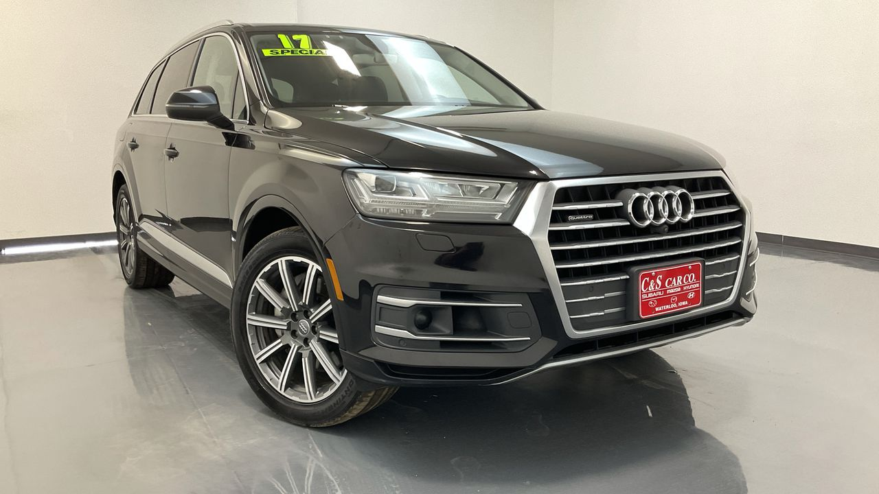 2017 Audi Q7 4D SUV 3.0T  - 16684  - C & S Car Company