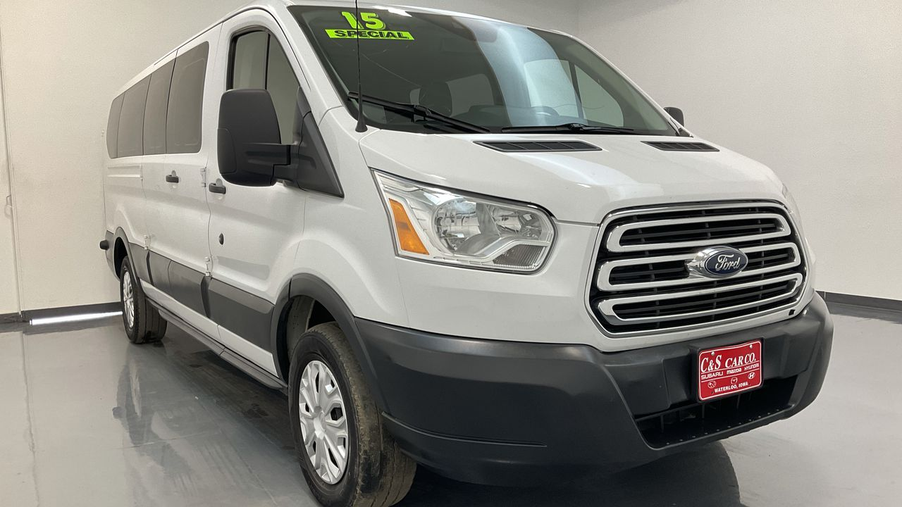 2015 Ford Transit Wagon Wgn Low Roof 148  - 16438A  - C & S Car Company