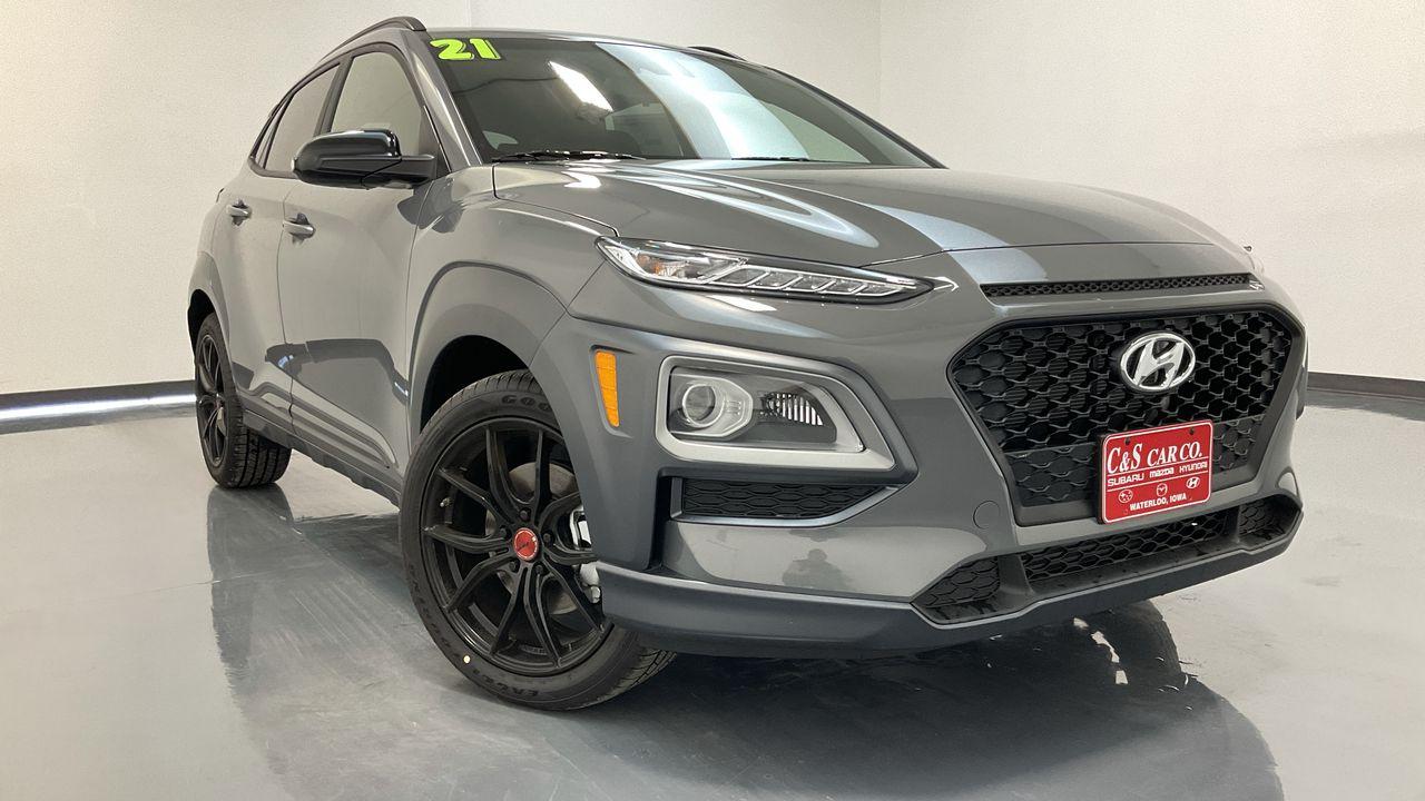 2021 Hyundai kona 4D SUV AWD 1.6T  - HY8775  - C & S Car Company