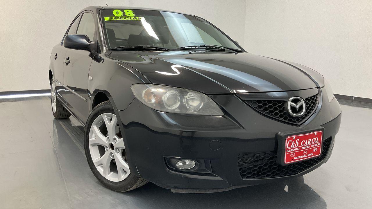 2008 Mazda Mazda3 4D Sedan  - SC8785B  - C & S Car Company
