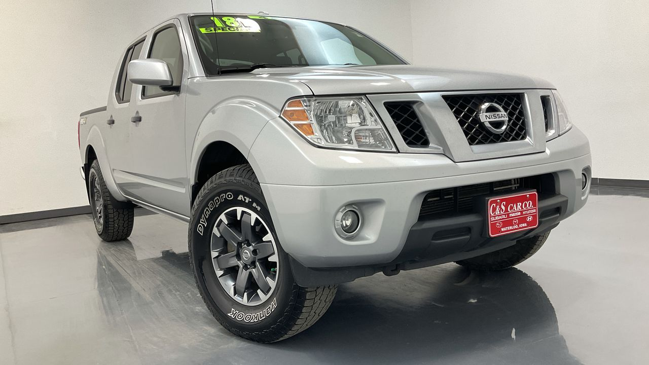 2018 Nissan Frontier Crew Cab 4WD at  - HY8701B  - C & S Car Company
