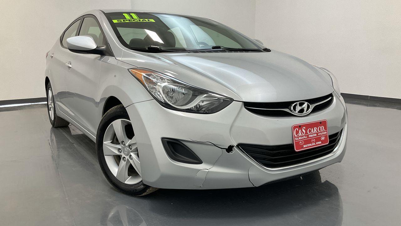 2011 Hyundai Elantra 4D Sedan  - HY8641A  - C & S Car Company