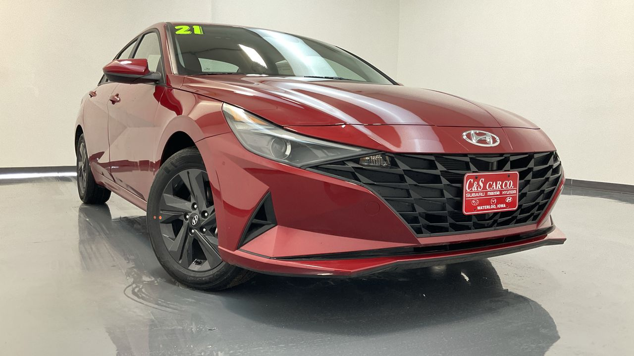 2021 Hyundai Elantra Hybrid 4D Sedan at  - HY8807  - C & S Car Company