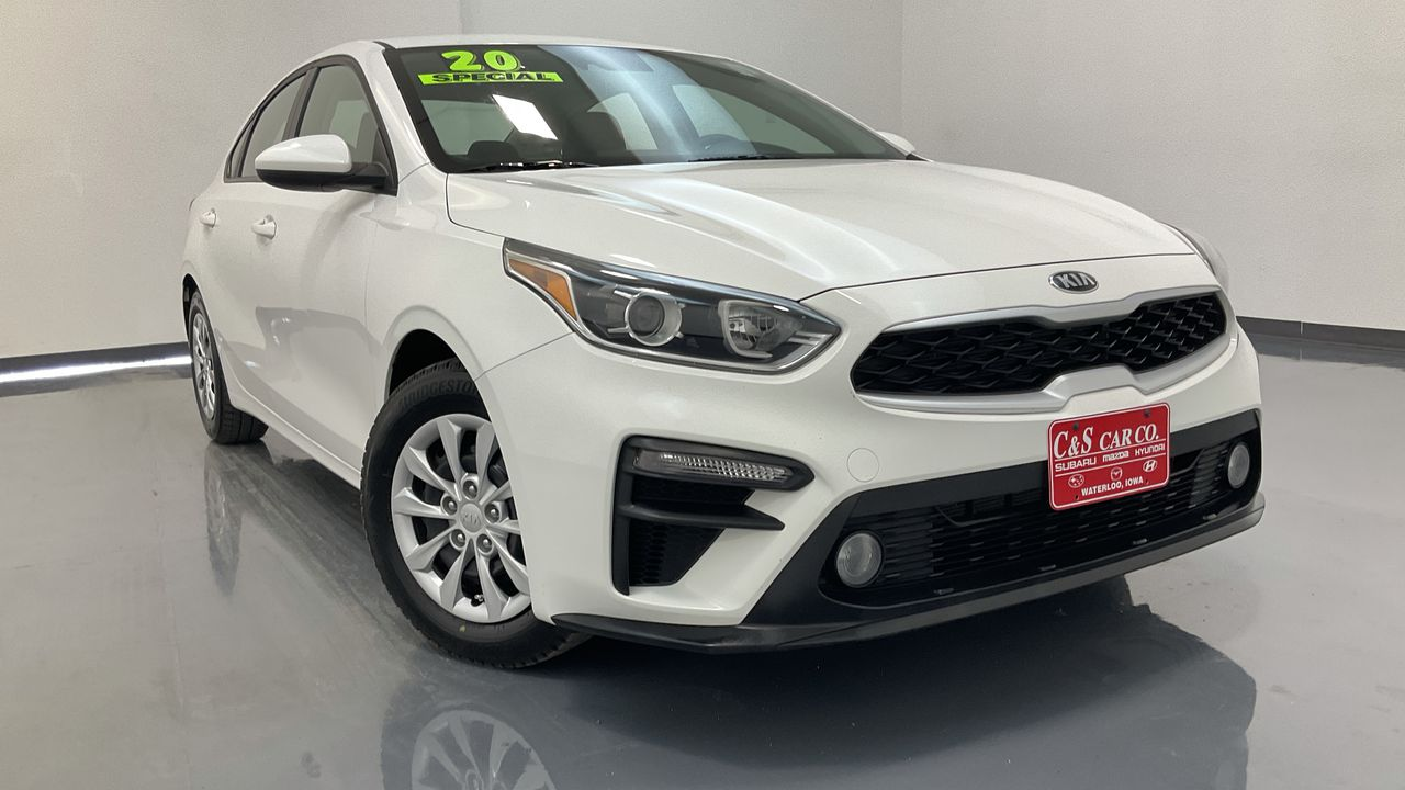 2020 Kia FORTE 4D Sedan 6sp  - 16712  - C & S Car Company