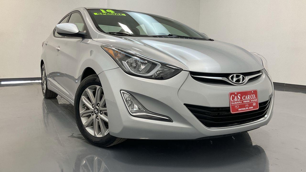 2014 Hyundai Elantra 4D Sedan  - SB9435B  - C & S Car Company