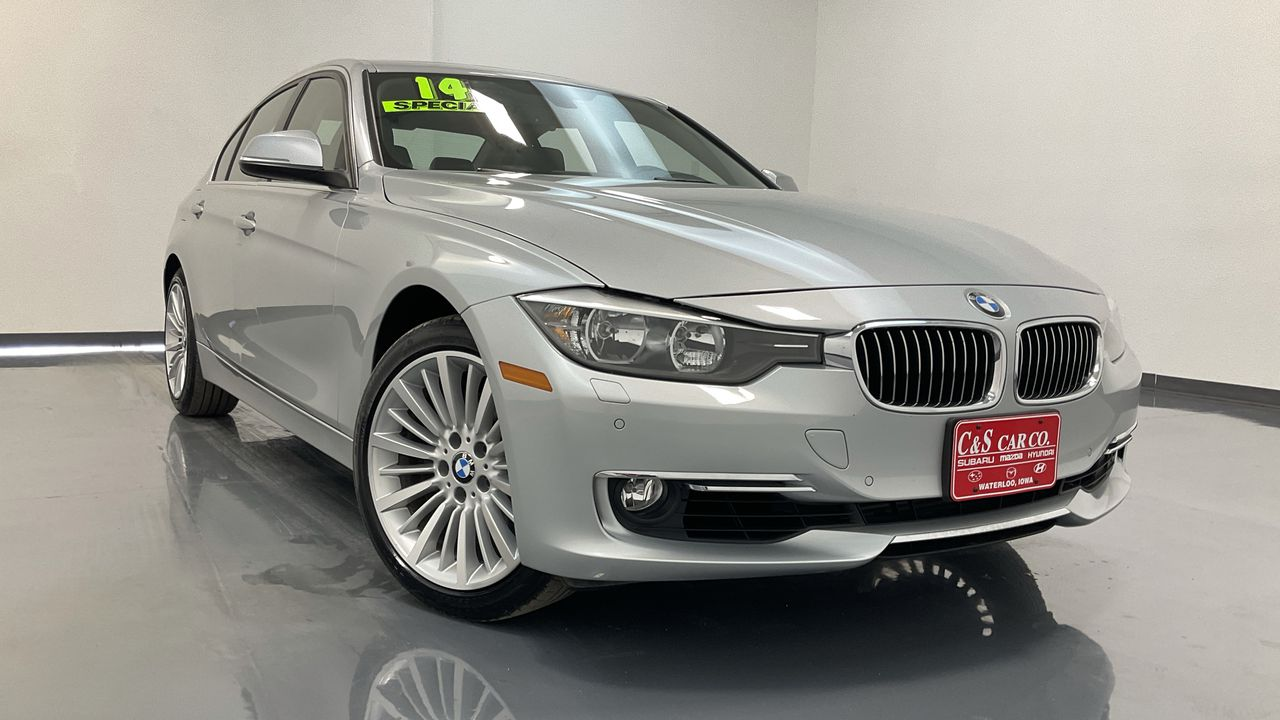 2014 BMW 3 Series 4D Sedan  - HY8557C  - C & S Car Company