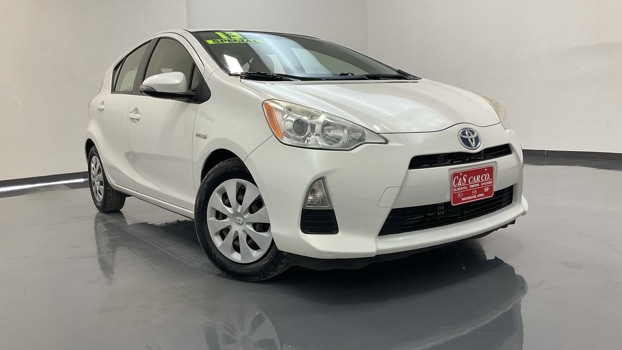 2013 Toyota Prius c 4D Hatchback  - HY8630A  - C & S Car Company