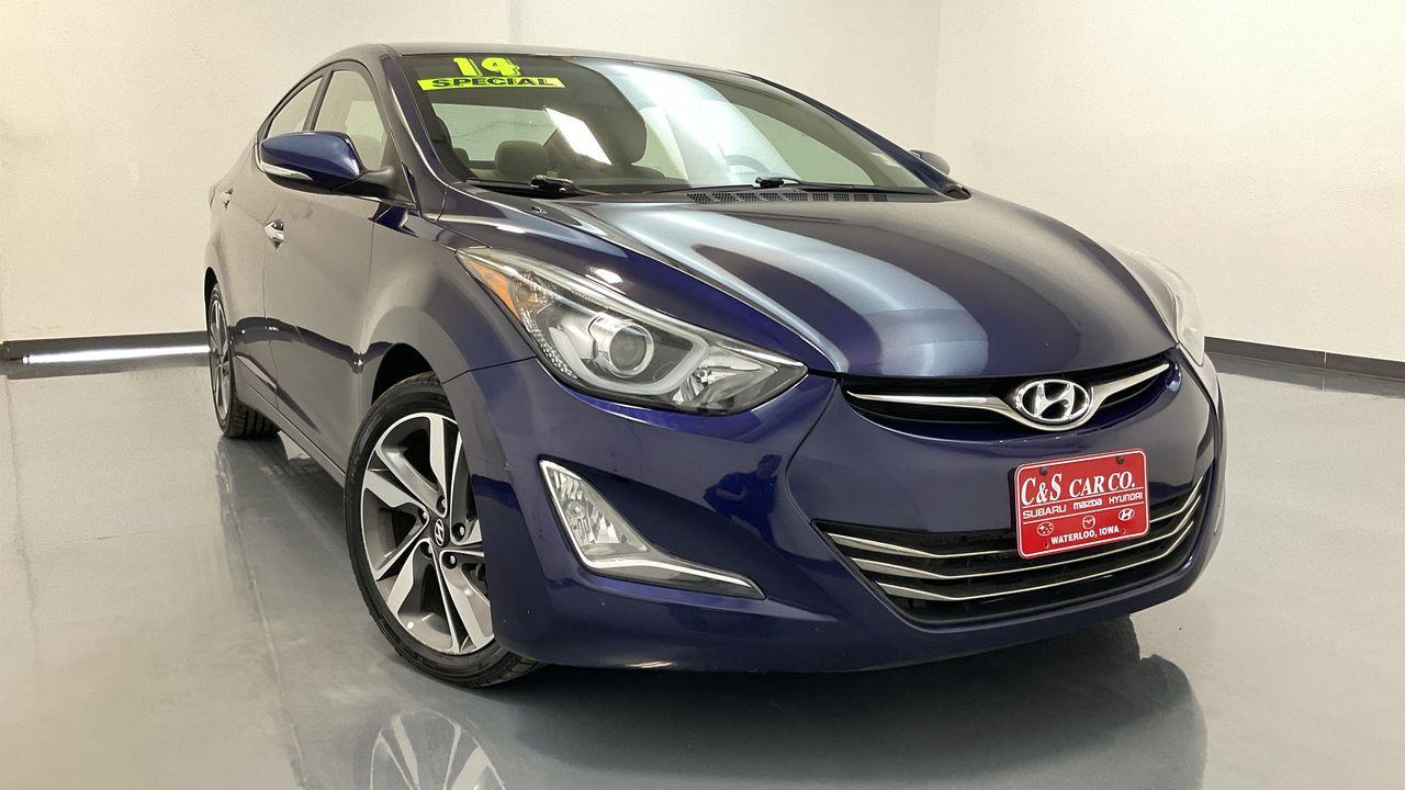 2014 Hyundai Elantra 4D Sedan  - HY8652B  - C & S Car Company