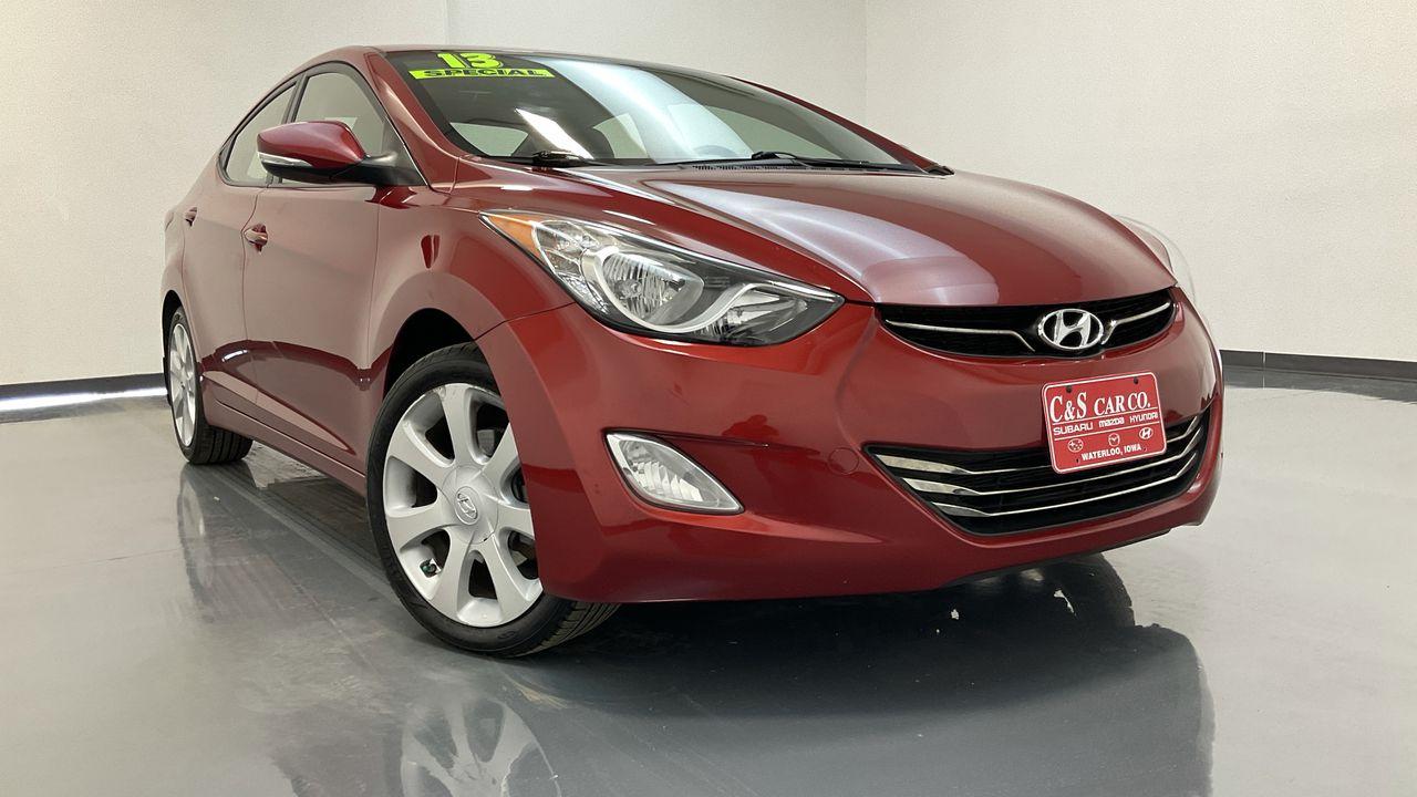 2013 Hyundai Elantra 4D Sedan  - SB9381A  - C & S Car Company
