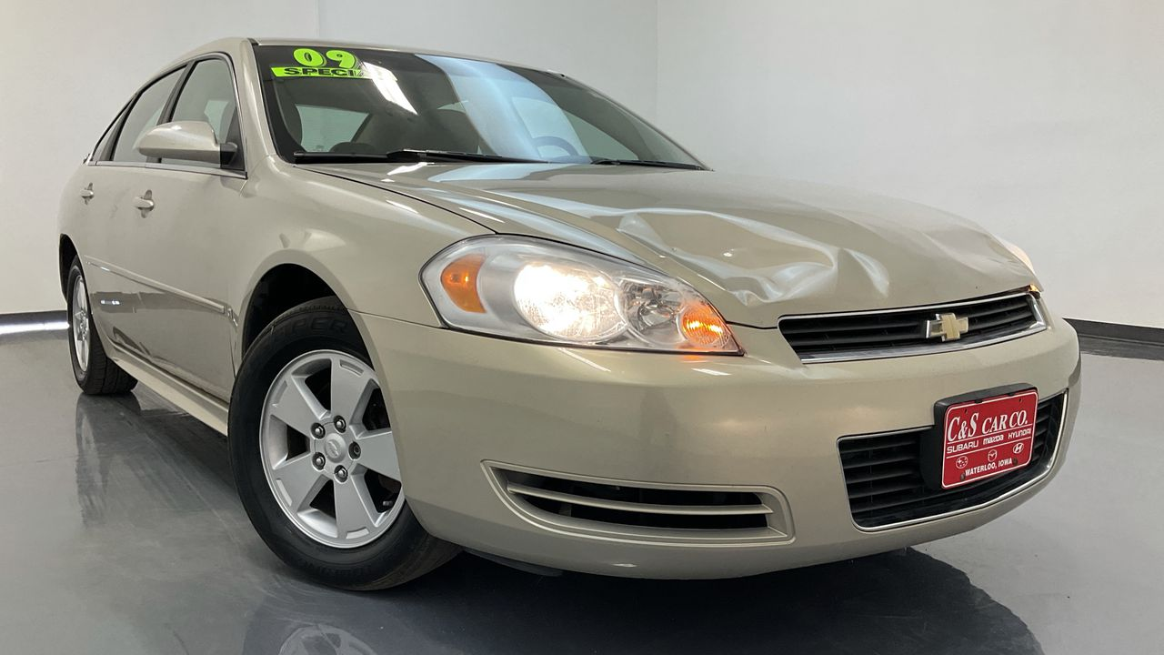 2009 Chevrolet Impala 4D Sedan  - SB9614B2  - C & S Car Company