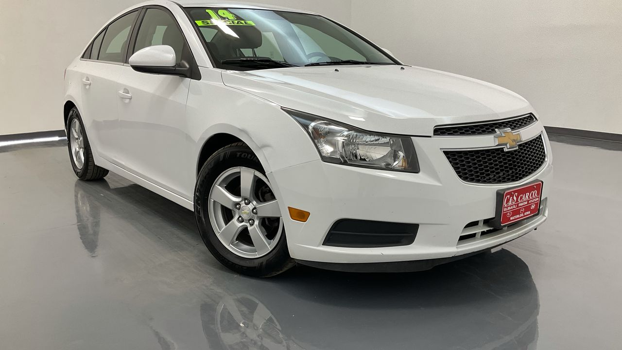 2014 Chevrolet Cruze 4D Sedan  - HY8660B  - C & S Car Company