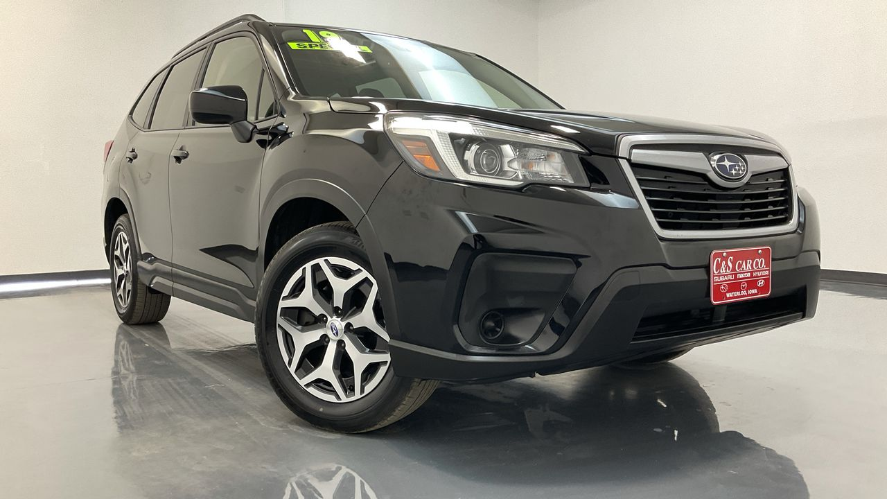 2019 Subaru Forester 4D SUV at  - SB9644A  - C & S Car Company