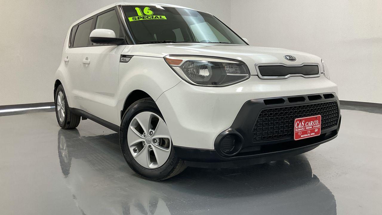 2016 Kia Soul 4D Wagon  - HY8774A  - C & S Car Company