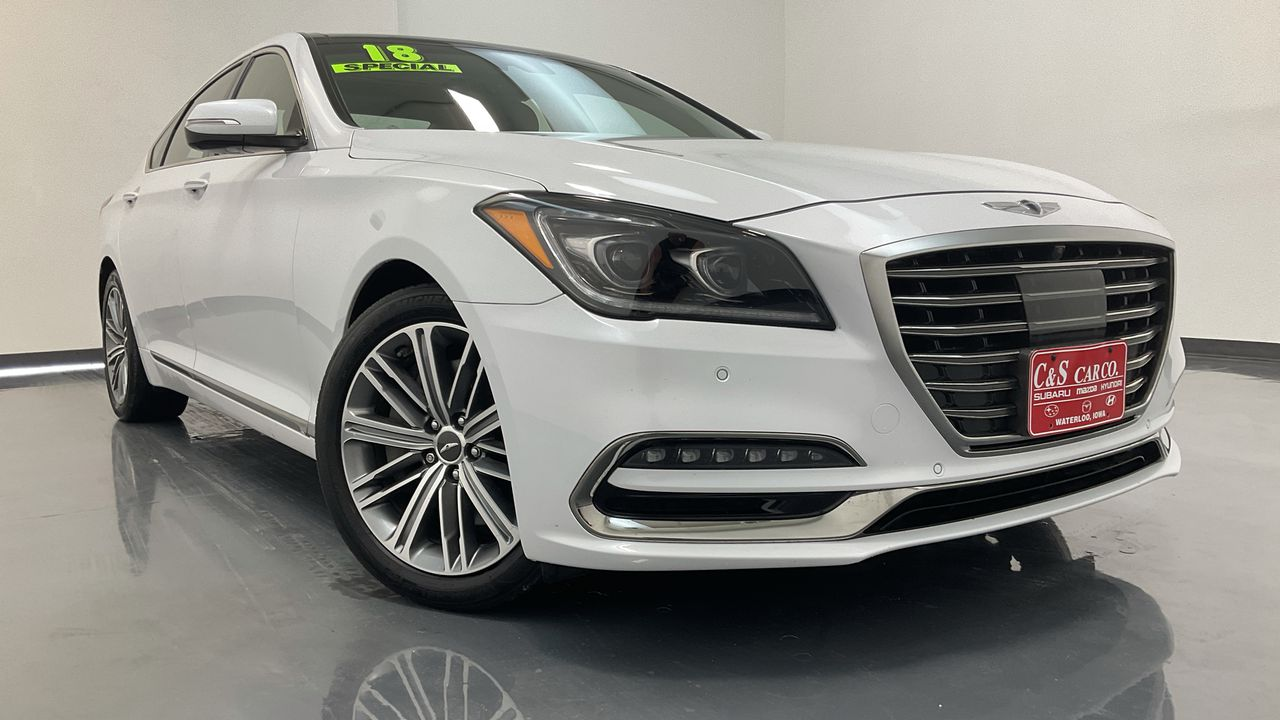2018 Genesis G80 4D Sedan AWD  - 16819  - C & S Car Company