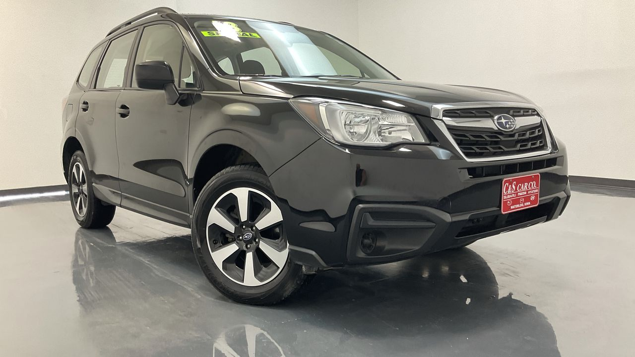 2018 Subaru Forester 4D SUV at  - SB9569A  - C & S Car Company