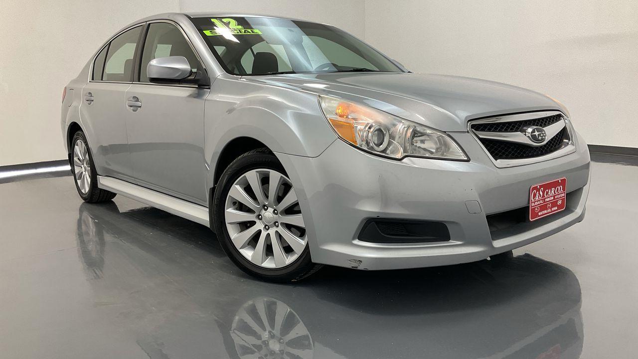 2012 Subaru Legacy 4D Sedan  - SB9350A  - C & S Car Company