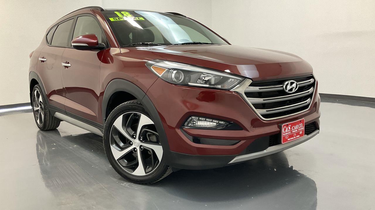 2018 Hyundai Tucson 4D SUV AWD  - MA3383A  - C & S Car Company