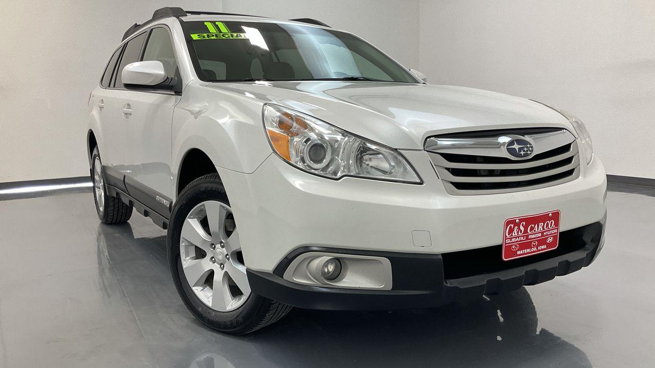 2011 Subaru Outback 4D Wagon  - SB9379B  - C & S Car Company