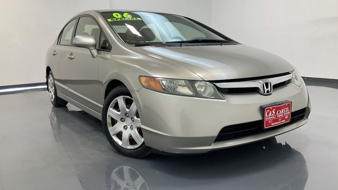 2006 Honda Civic 4D Sedan  - MA3416B  - C & S Car Company