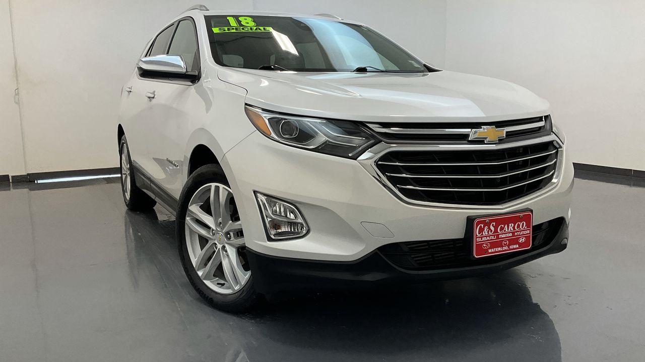 2018 Chevrolet Equinox 4D SUV FWD 1.5T  - 16811A  - C & S Car Company