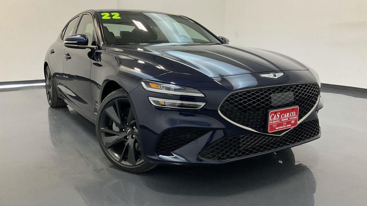 2022 Genesis G70 2.0T Prestige  - GS1071  - C & S Car Company