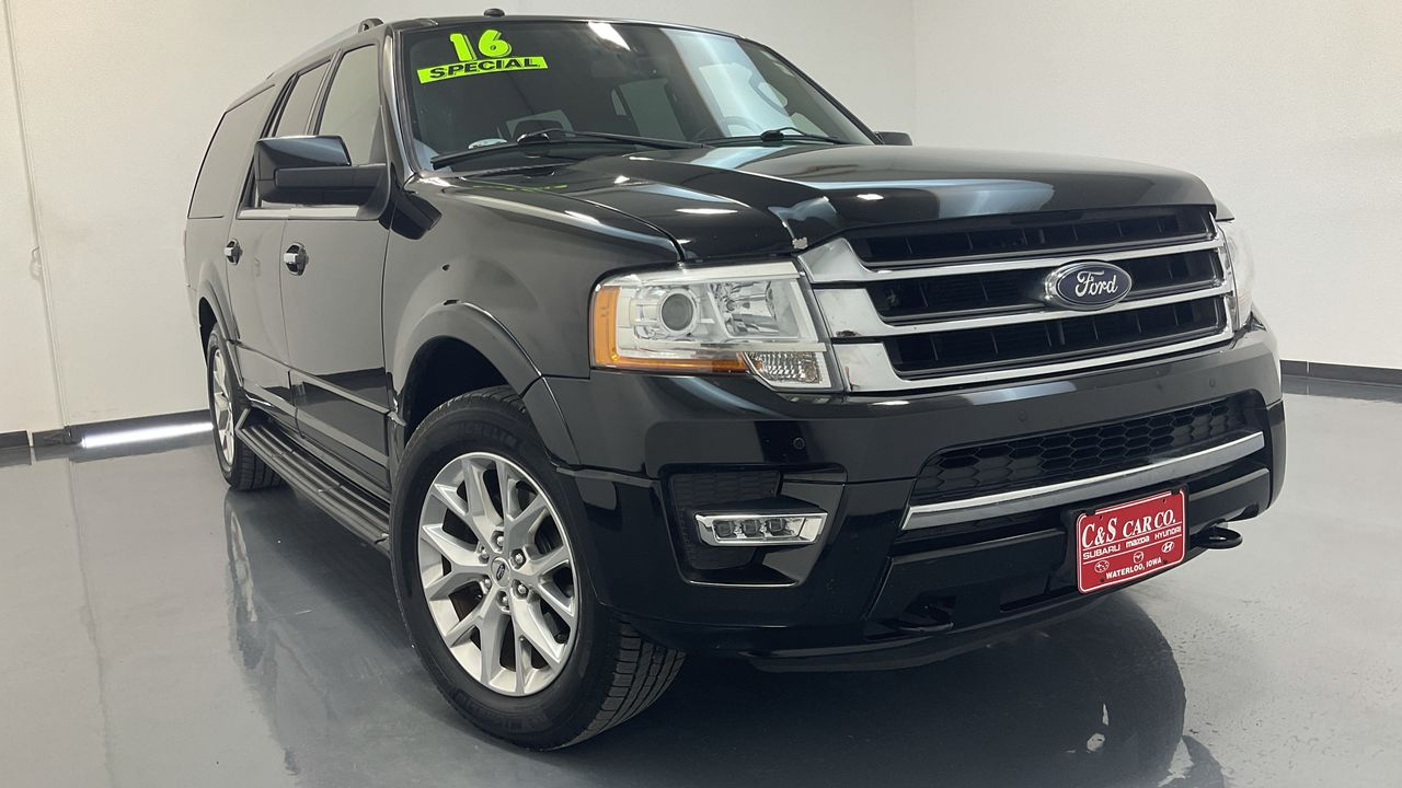 2016 Ford Expedition EL 4D SUV 4WD  - 16843A  - C & S Car Company