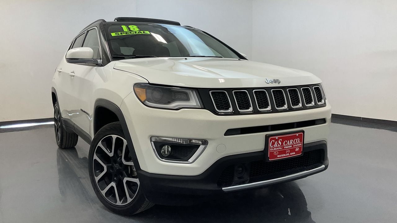 2018 Jeep Compass 4D SUV 4WD  - HY8858B  - C & S Car Company