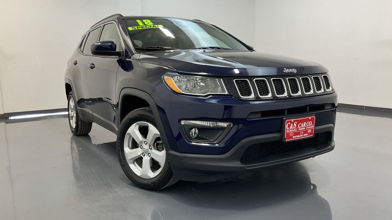 2018 Jeep Compass 4D SUV 4WD  - HY8715A  - C & S Car Company