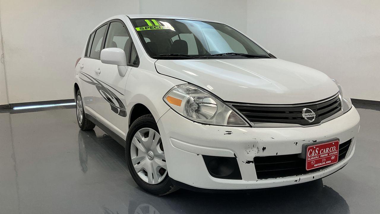 2011 Nissan Versa 4D Hatchback  - 16881  - C & S Car Company