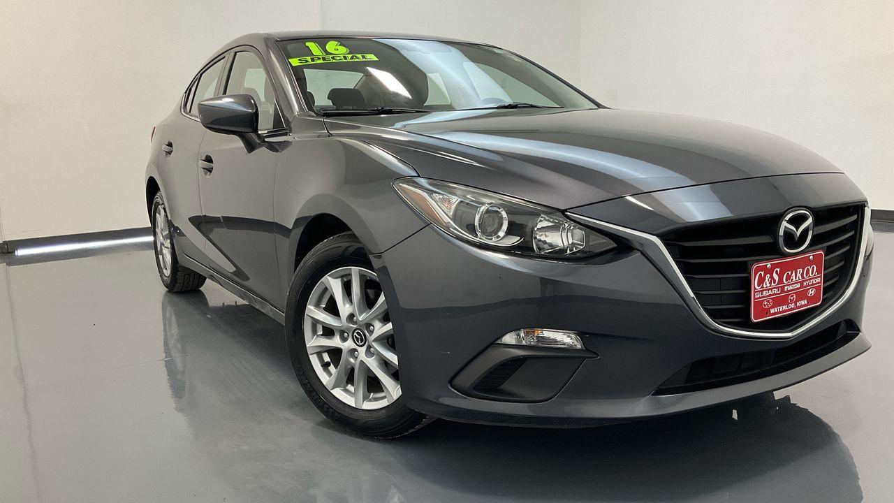 2016 Mazda Mazda3 4D Sedan  - HY8694A  - C & S Car Company
