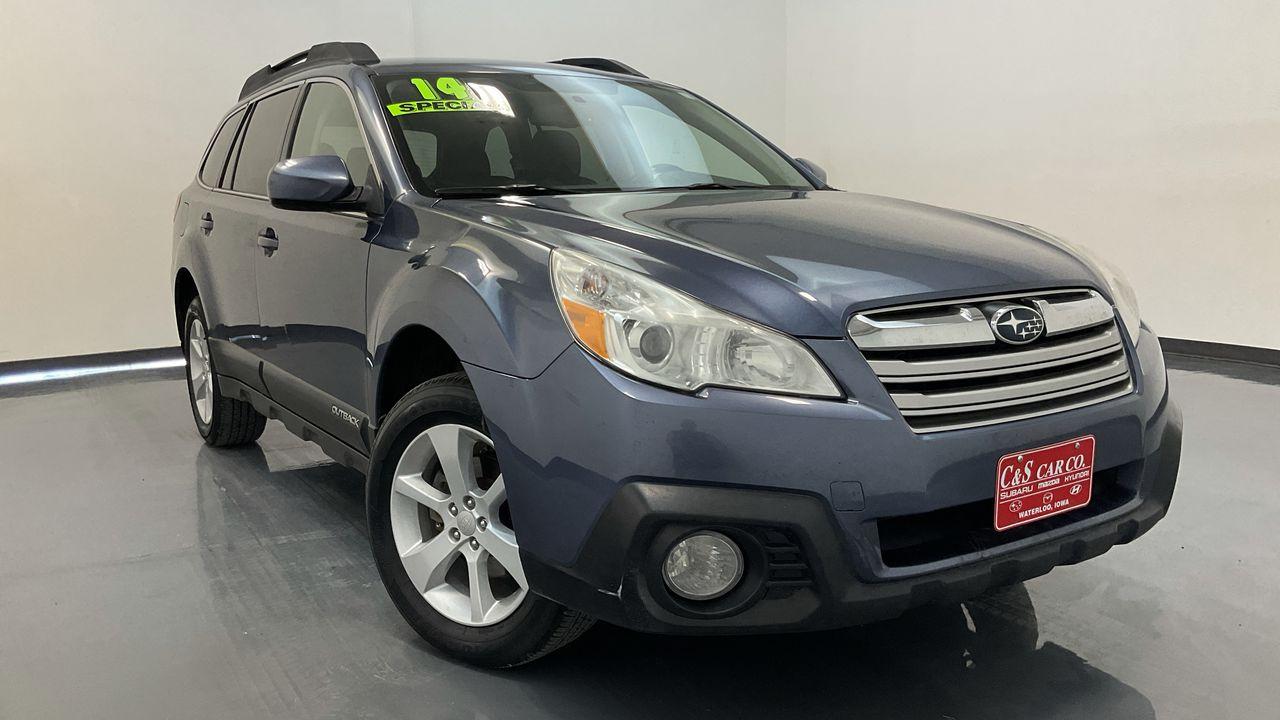 2014 Subaru Outback 4D Wagon  - 16928A  - C & S Car Company