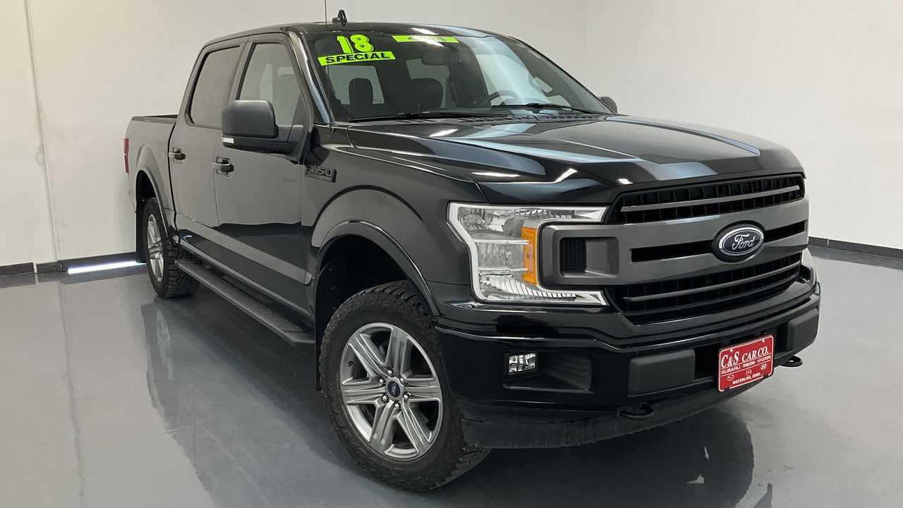 2018 Ford F-150 Supercrew 4WD 157  - 16867A  - C & S Car Company