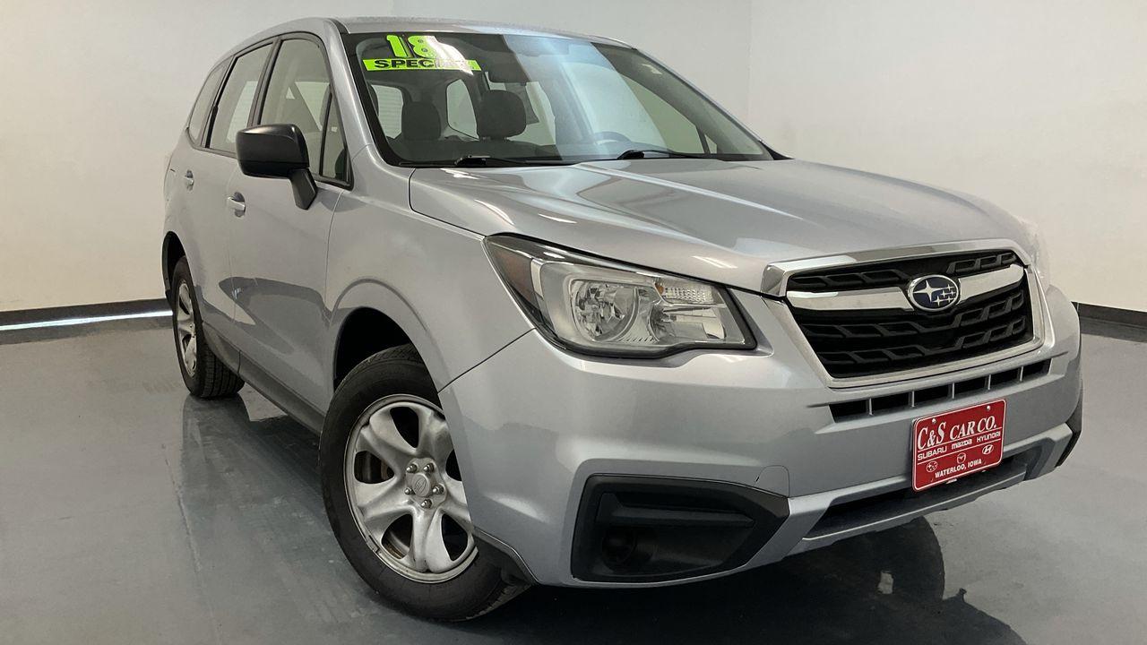 2018 Subaru Forester 4D SUV at  - 16959  - C & S Car Company