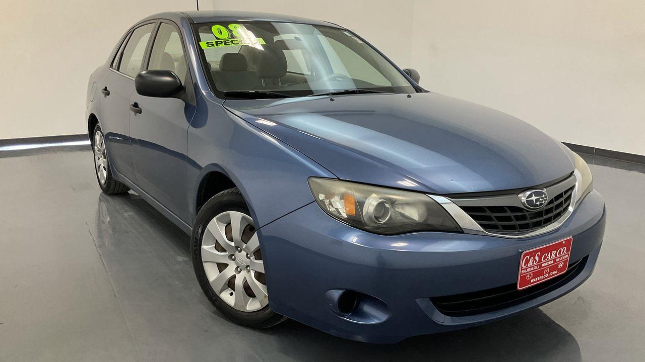 2008 Subaru Impreza 4D Sedan 2.5  - 16887A  - C & S Car Company