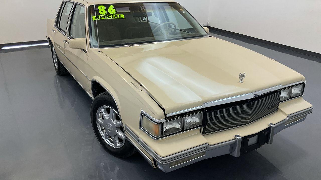 1986 Cadillac DeVille  - C & S Car Company