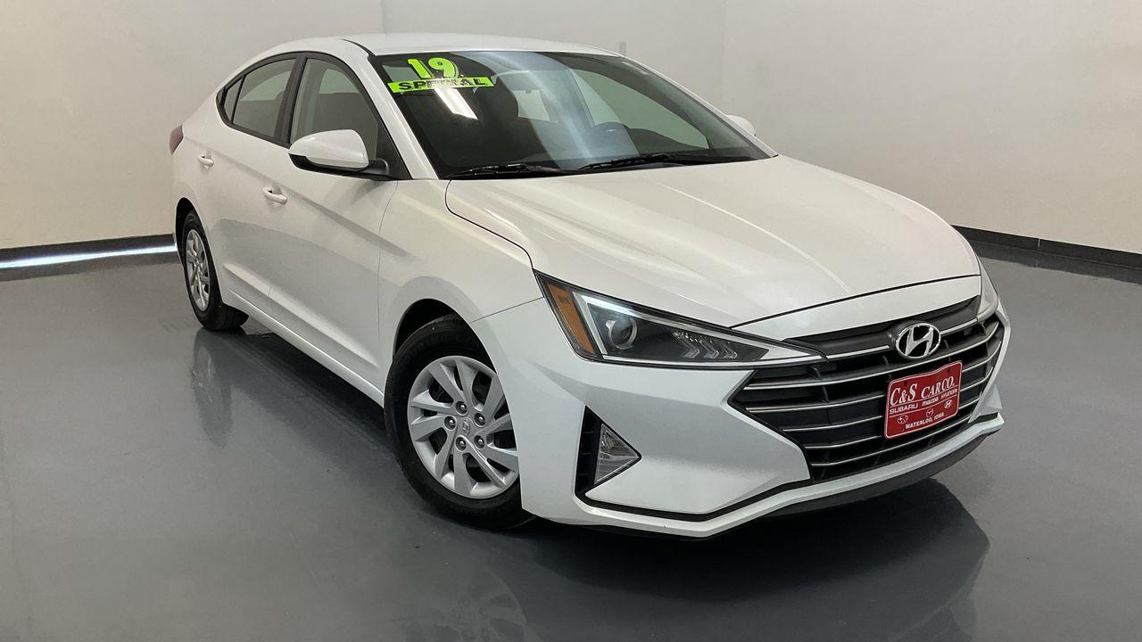 2019 Hyundai Elantra  - HY8564A  - C & S Car Company