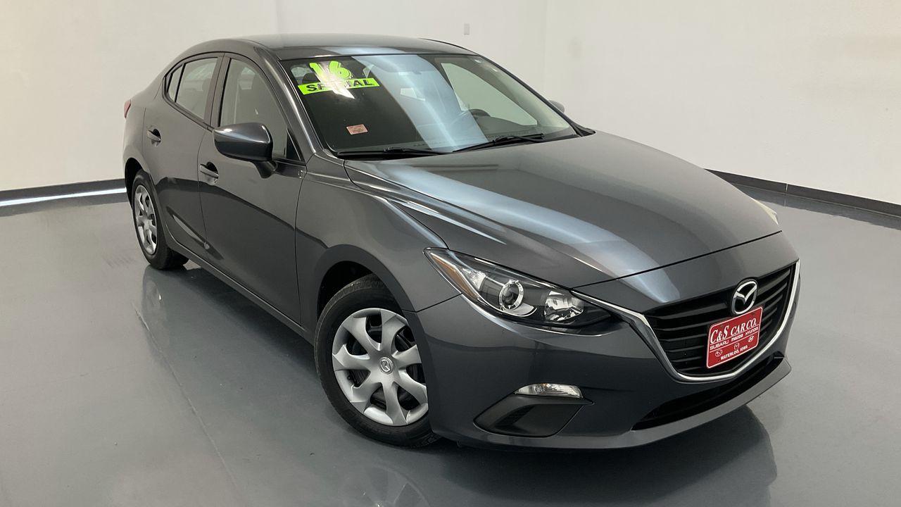 2016 Mazda Mazda3 4D Sedan  - HY8805A  - C & S Car Company