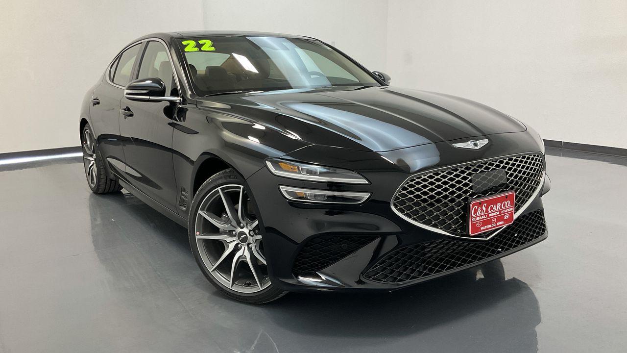 2022 Genesis G70  - C & S Car Company