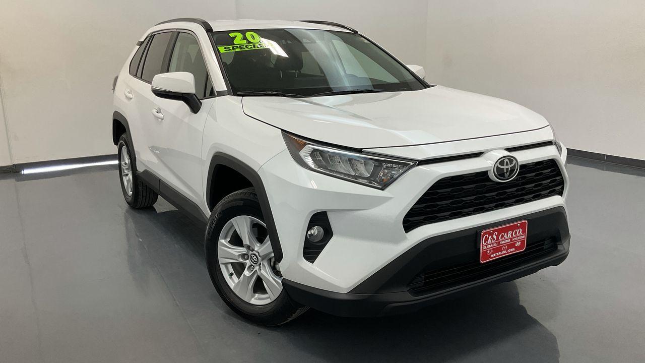 2020 Toyota RAV-4 4D SUV AWD  - SB9821A  - C & S Car Company