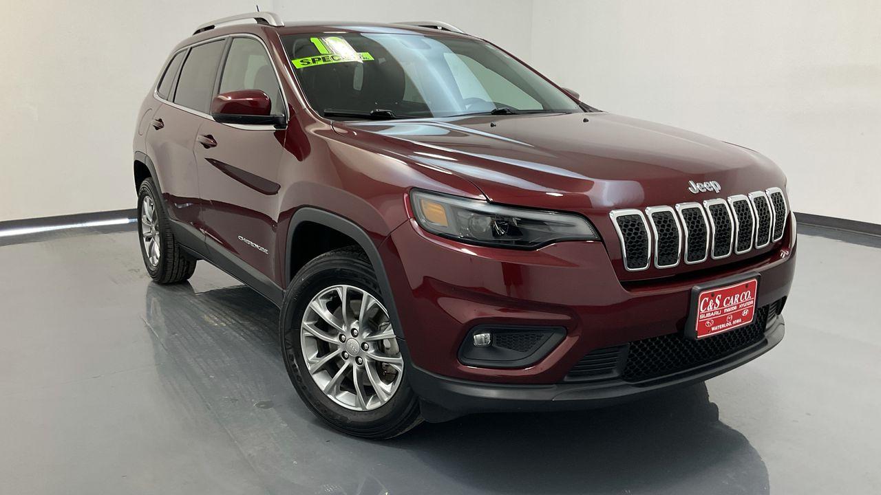 2019 Jeep Cherokee 4D SUV 4WD  - SB9844A  - C & S Car Company
