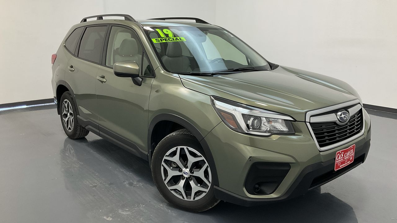 2019 Subaru Forester  - SB9864A  - C & S Car Company