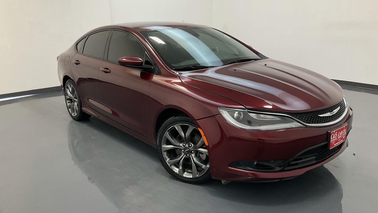 2016 Chrysler 200 4D Sedan  - 16961A  - C & S Car Company