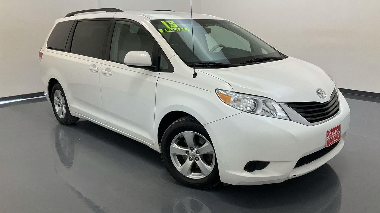 2013 Toyota Sienna  - C & S Car Company