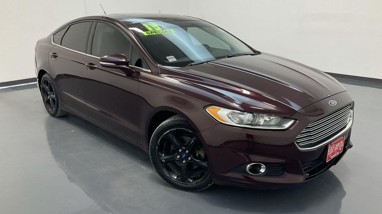 2013 Ford Fusion 4D Sedan  - MA3434A  - C & S Car Company
