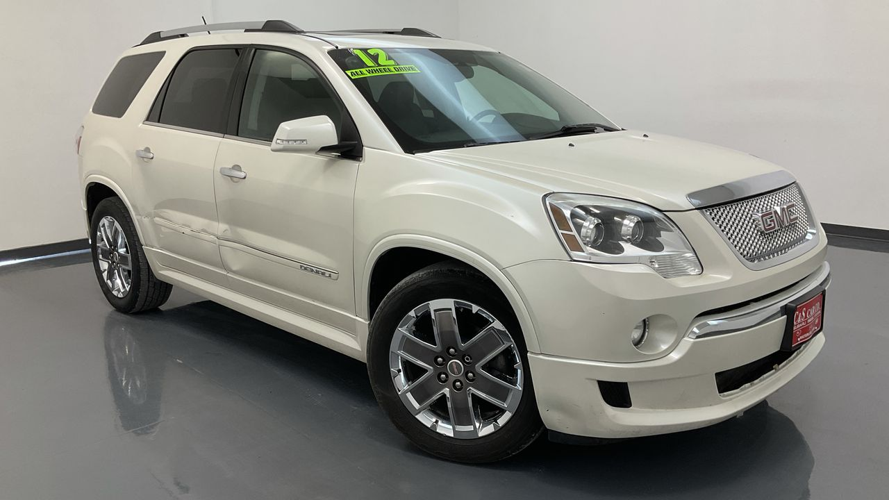 2012 GMC Acadia 4D SUV AWD  - 17172B  - C & S Car Company
