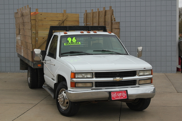 1996 chevrolet c 3500 hd dump bed truck stock 14528a1 waterloo ia rh candscarcompany com C3500 Dually White 2000 Chevy C3500